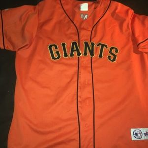 Majestic Giants Jersey #25 Barry Bonds MBL SZ XXL